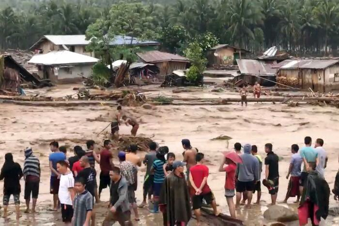 Tropical Storm Leaves Hundreds Dead in the Philippines