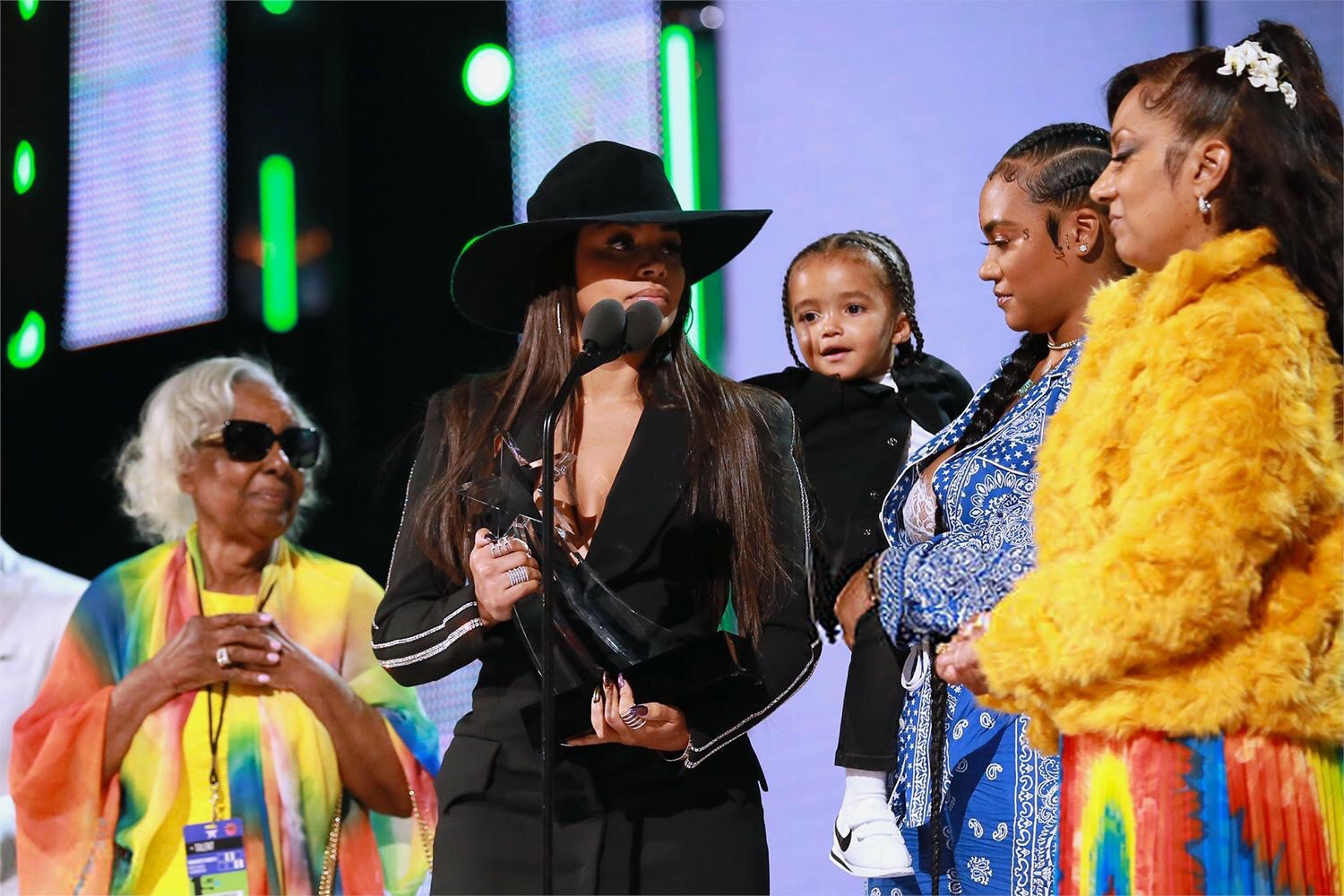 The Marathon continues as Nipsey Hussle's family accepts his BET Humanitarian Award