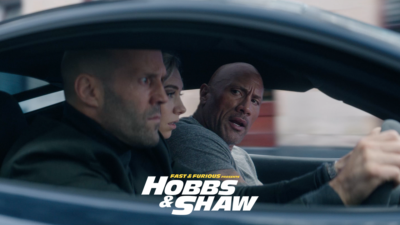 Hobbs and Shaw tops the weekend box office