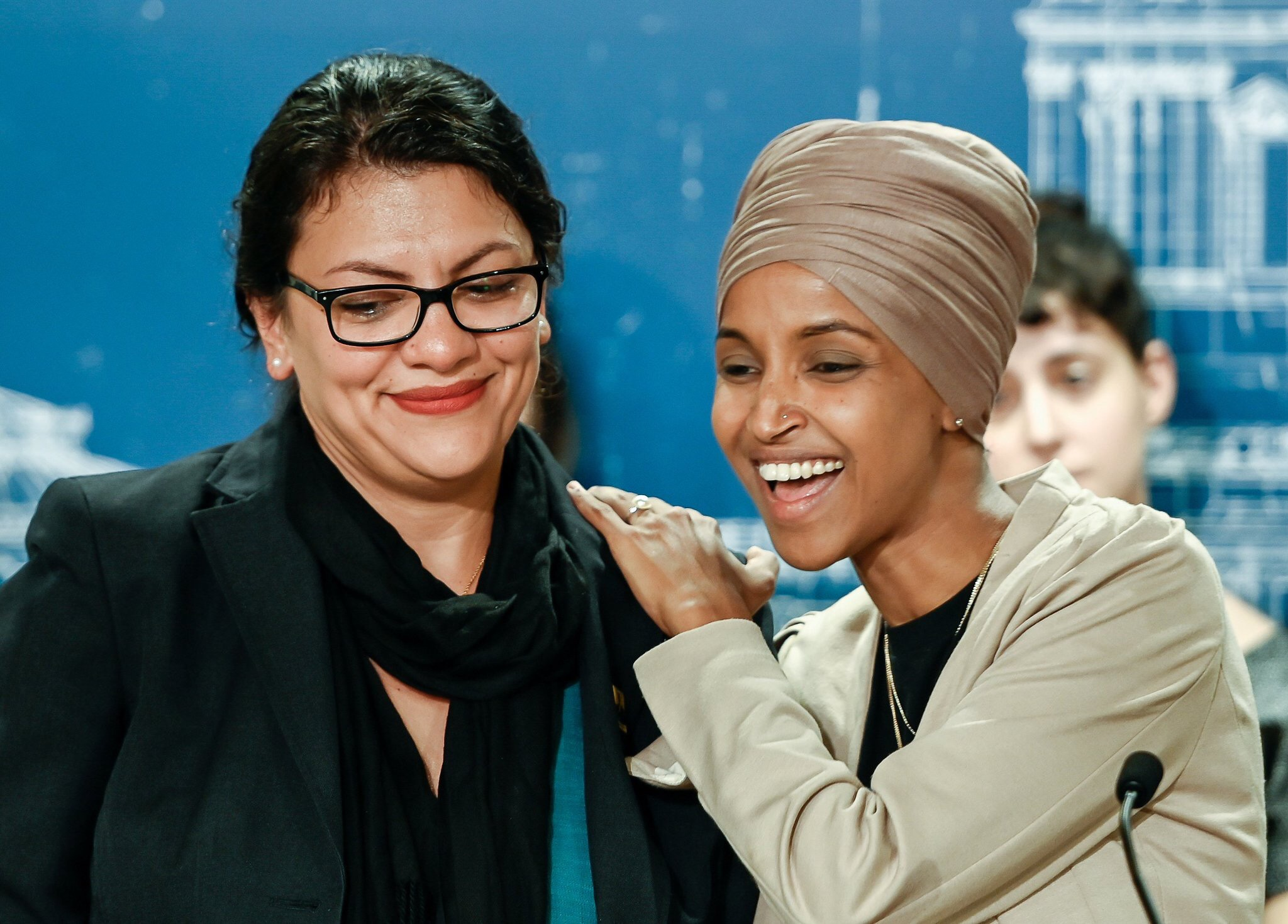 Ilhan Omar and Rashida Tlaib respond after being barred entry into Israel
