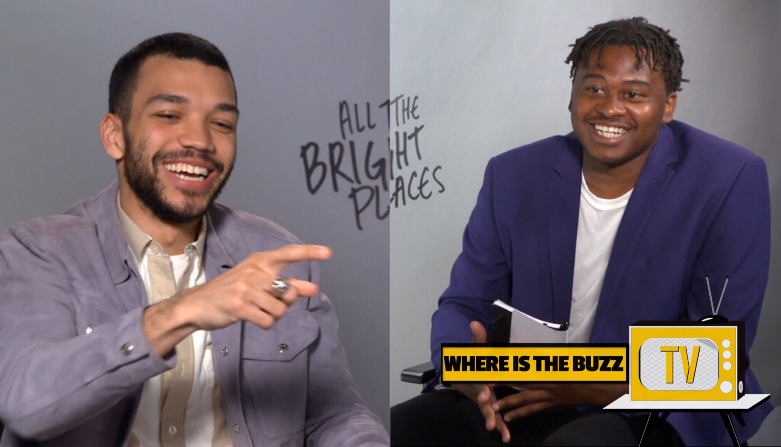 ALL THE BRIGHT PLACES INTERVIEWS: JUSTICE SMITH TALKS MENTAL HEALTH AND WORKING WITH ELLE FANNING