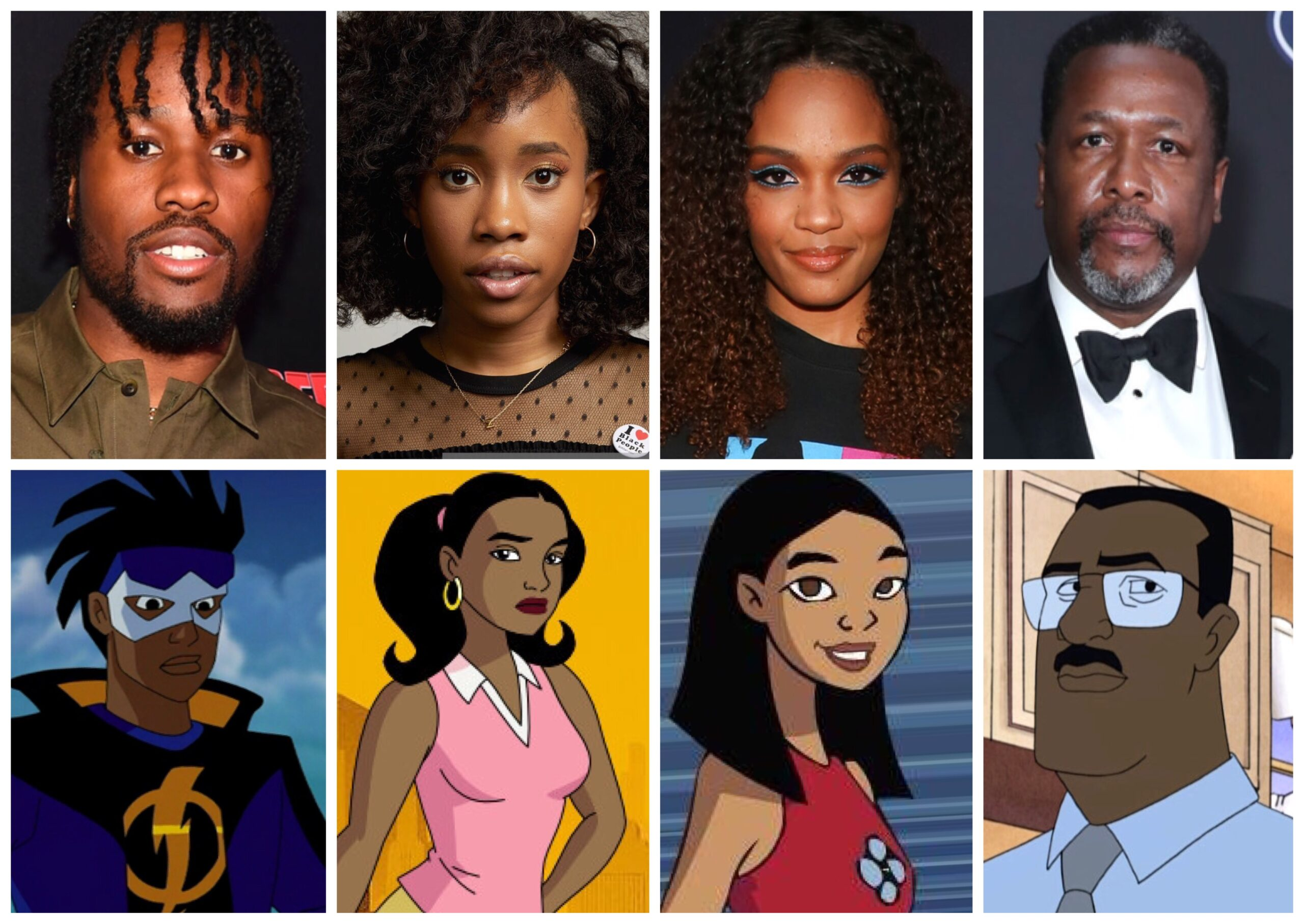 Static Shock Live Action Dream Cast