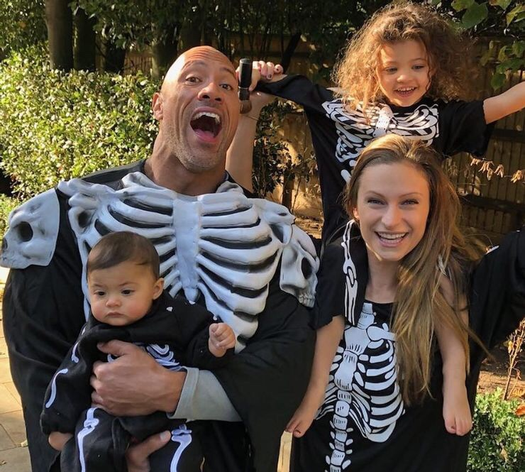 The Rock, His Wife Lauren and His Two Daughters Have Tested Positive For COVID-19