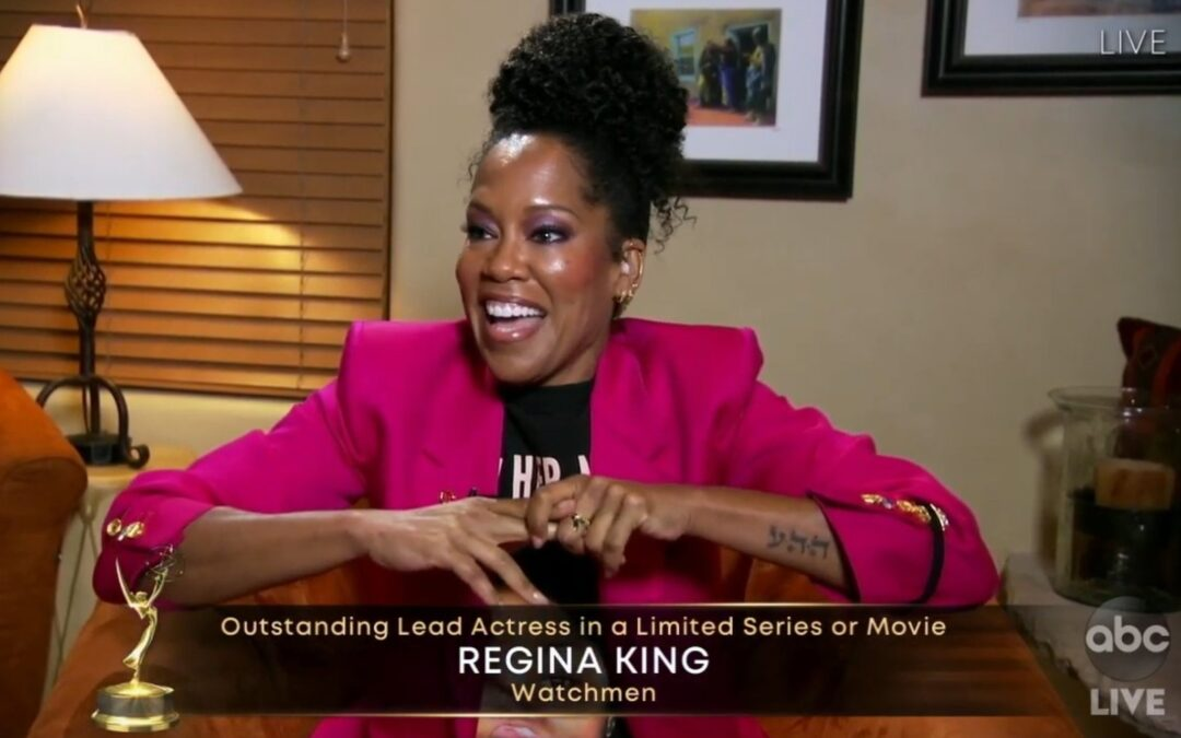 Regina King Wins the Emmy For Lead Actress in a Limited Series or Movie for her role in Watchmen